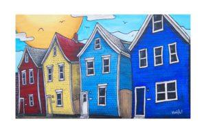 The Four Jewels from Agricola Street, Halifax, Nova Scotia